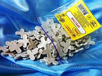 Крестики 6 мм для кафеля и плитки(100 шт в упаковке)