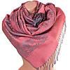 Женский очаровательный двусторонний палантин из пашмины 180 на 71 см ETERNO ES2707-5-4 розовый