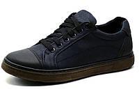 Туфли спортивные Step Wey, мужские, натуральная кожа, черные, р. 40 41 42 43 44 45, фото 1