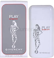 Женская парфюмерная вода Givenchy Play in the City for Her (Живанши Плей Ин Зе Сити Фо Хе)