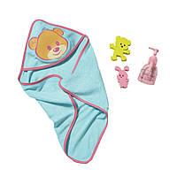 Набор аксессуаров для купания для куклы Baby Born Zapf Creation 819609