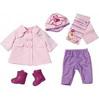 Набор осенней одежды для куклы 43 см Baby Born Zapf Creation 820742