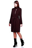 Женское прямое кашемировое пальто Mайорка с синтепоном 42-54 рр