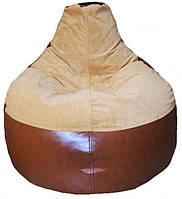 Бескаркасное Кресло-мешок груша пуф мягкий