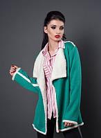 Модная меховая женская курточка (4 цвета)