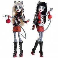 Набор их 2х кукол Монстер Хай Мяулоди и Пурсефона Monster High Meowlody &Purrsephone