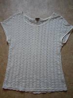 Блуза коттоновый гипюр