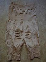 Утяжки-шорты золото глянец