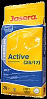 Сухой корм для взрослых активных собак Josera Active 20кг