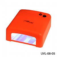 УФ Лампа для наращивания ногтей Lady Victory UV-36W оранжевая (в)