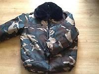 Куртка  пилот камуфляж теплая