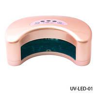 Ультрафиолетовая светодиодная LED лампа для сушки ногтей Lady Victory UV-LED-01   (в)