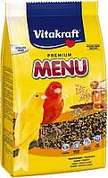 Vitakraft Menu Vital Корм для канареек с медом