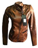 Женская куртка кожзам