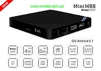 Медиаплеер Mini M8S IPTV.