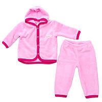 Теплый детский комплект Minikin 15288 розовый