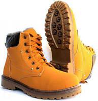 Зимние мужские ботинки в стиле Timberland и CAT