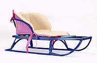 Меховой вкладыш в санки 0301 (в ассортименте), Baby Breeze