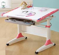 Детский стол письменный К1 Comf-Pro, розовый или синий