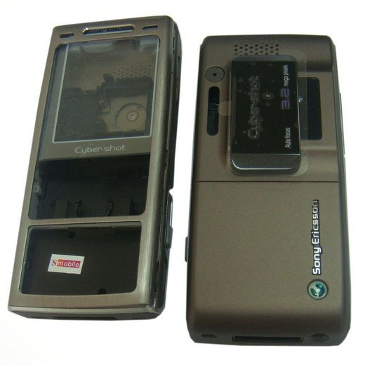 Корпус Sony Ericsson K800 Brown high copy