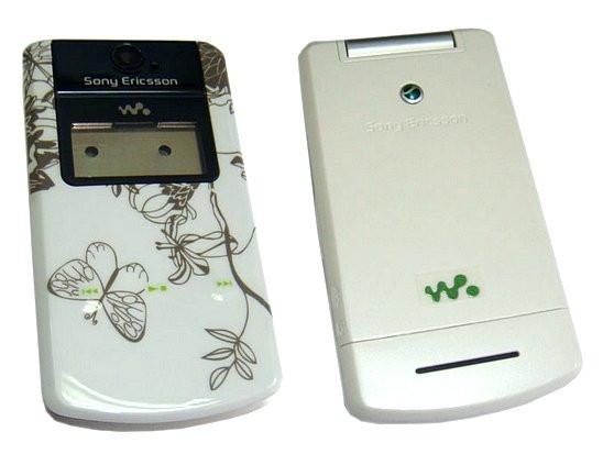 Корпус Sony Ericsson W508 White high copy