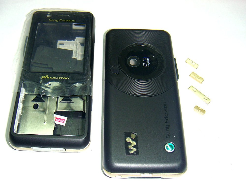 Корпус Sony Ericsson W660 Black high copy