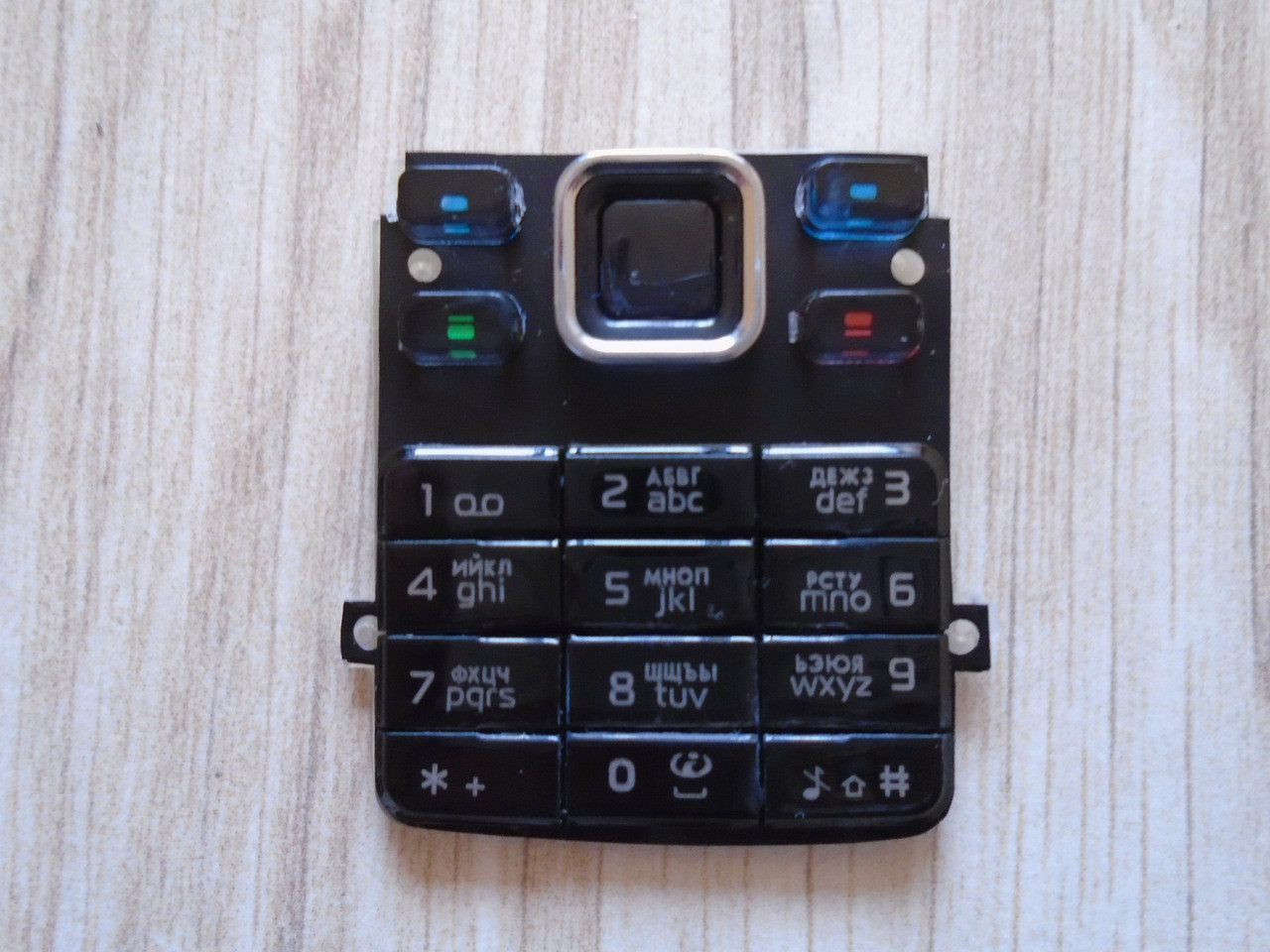 Клавиатура Nokia 6300 Black high copy