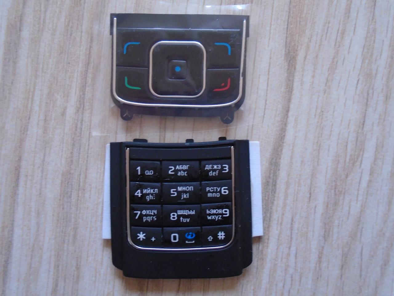 Клавиатура Nokia 6288 Black high copy