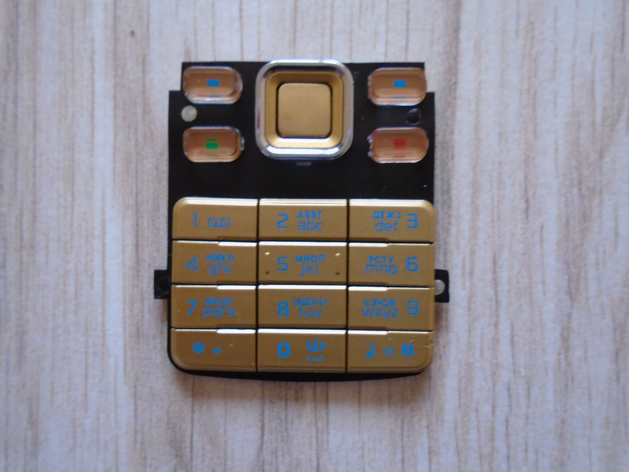 Клавиатура Nokia 6300 Gold high copy