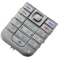 Клавиатура Nokia 6233 Silver high copy