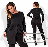 Модная женская кофта в больших размерах d-1515836