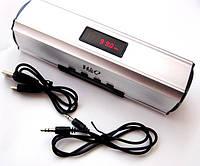Портативная колонка Digital Speaker W&Q S-102, Silver, фото 1