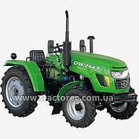 Трактор DW 244 T, 3 цил, 24 л.с., 4Х4, гидроусилитель руля, БЕСПЛАТНАЯ ДОСТАВКА!