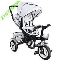 Детский Трехколесный велосипед  колясочный с функцией поворота сиденья