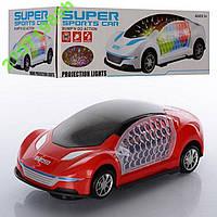 Машинка на батарейке,3D-свет,ездит,музыка