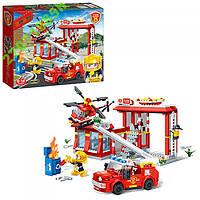 Конструктор Banbao Пожарная служба,505 дет,4 фигур