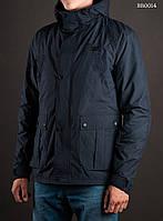 Парка куртка мужская осенняя Staff Micro dark blue Art. BR0014