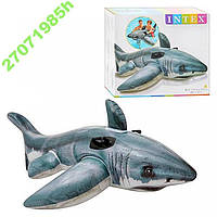 Надувная игрушка для плавания Большая белая акула