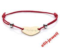 Модный красный веревочный браслет Forever