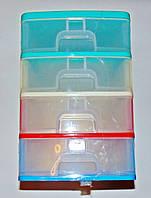 Мини-комод Maxi на 4 отделения R-plastik 24х35