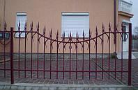 Кованный забор (810)