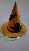 Карнавальная шляпка на Хэллоуин из фетра