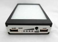 Солнечное зарядное устройство Power Bank 15000 mAh + фонарик