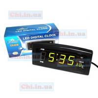 Часы CX-818 настольные будильник  220 вольт Caixing