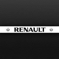 Наклейка полоса на лобовое стекло Renault