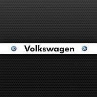 Наклейка полоса на лобовое стекло VW