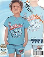 Пижама для мальчиков  с шортами