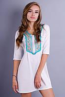 Мария. Женское платье. Белый., фото 1