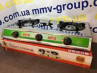 Плита газовая Мрия 3 конф нержавейка