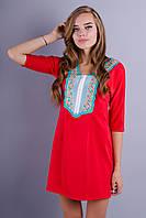 Мария. Женское платье. Красный., фото 1